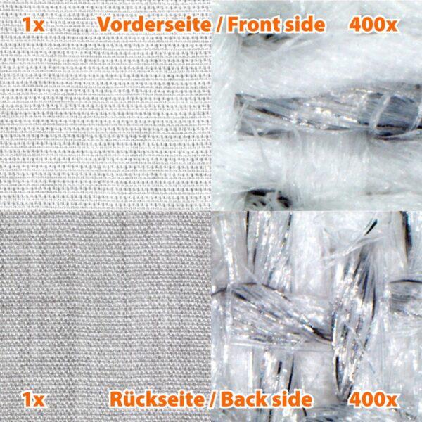 fibres du tissu de blindage Steel-twin