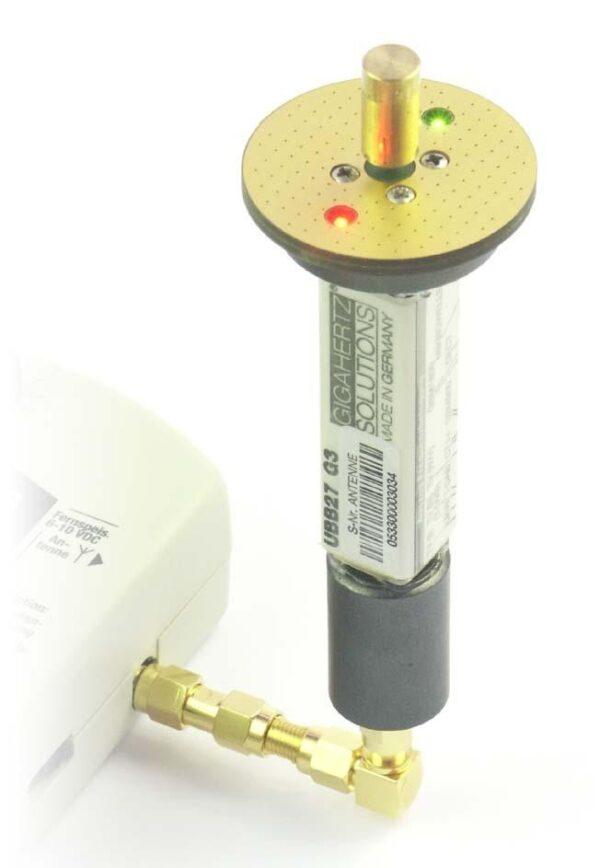 HFE35C : Mesure des HF de 27 MHz à 2500 MHz