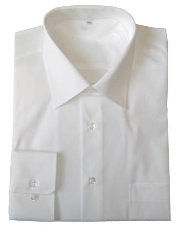 Chemise homme écran popeline blanche contre les hautes fréquences
