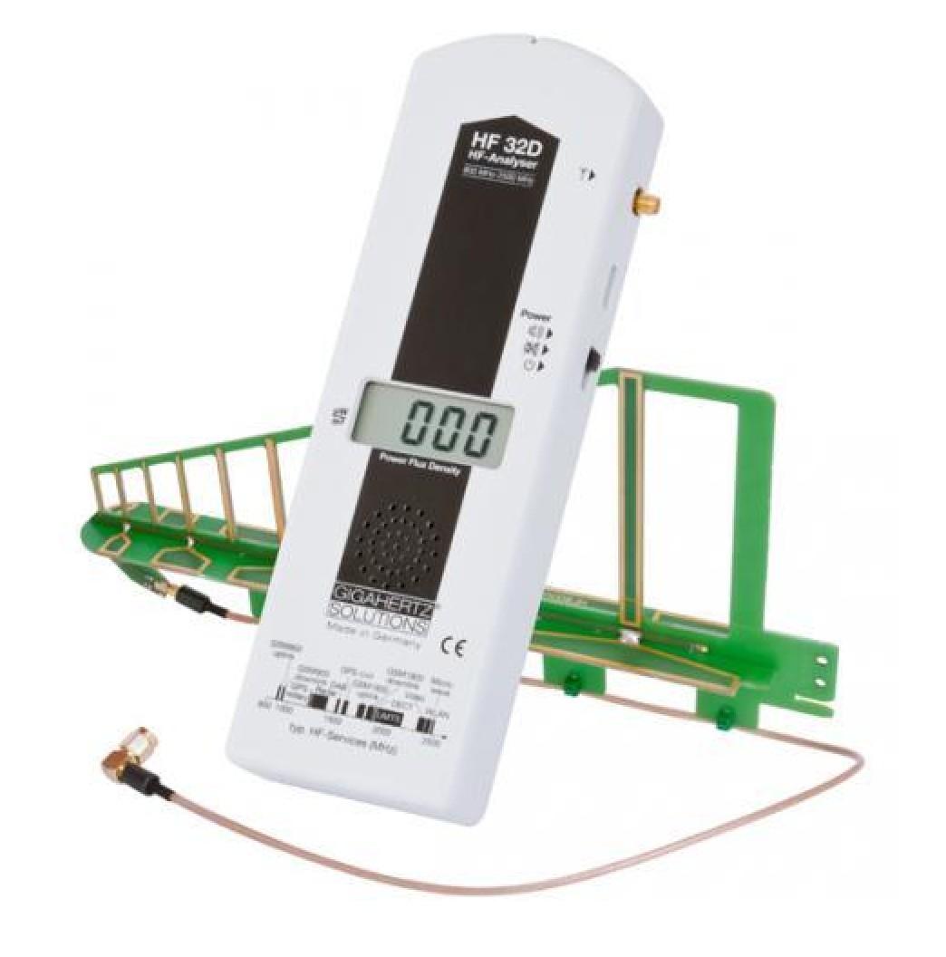 HF35C: Mesure des HF de 800 MHz à 2700 MHz