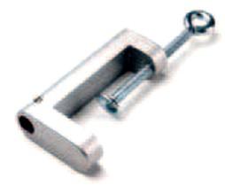 Pince de serrage pour lampe de bureau blindée