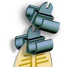 Support d'ampoules - test pour l'antenne H3
