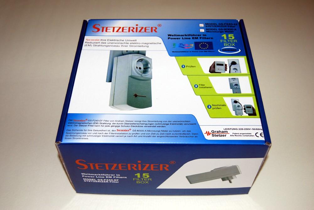 Boîte Stetzerizer 15 filtres sans mesureur de microsurtension