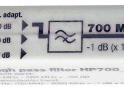 HP700-Filtre à bande passante élevée