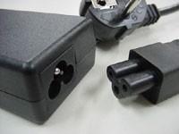 Câble blindé électrique souple et noir pour ordinateur portable - notebook