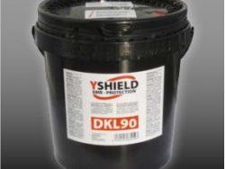 DK90L colle de dispersion conductrice pour toile de blindage