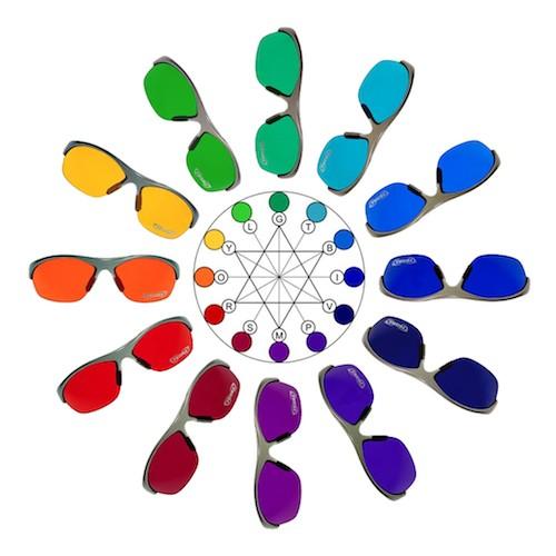 Lunettes spectro-chrome