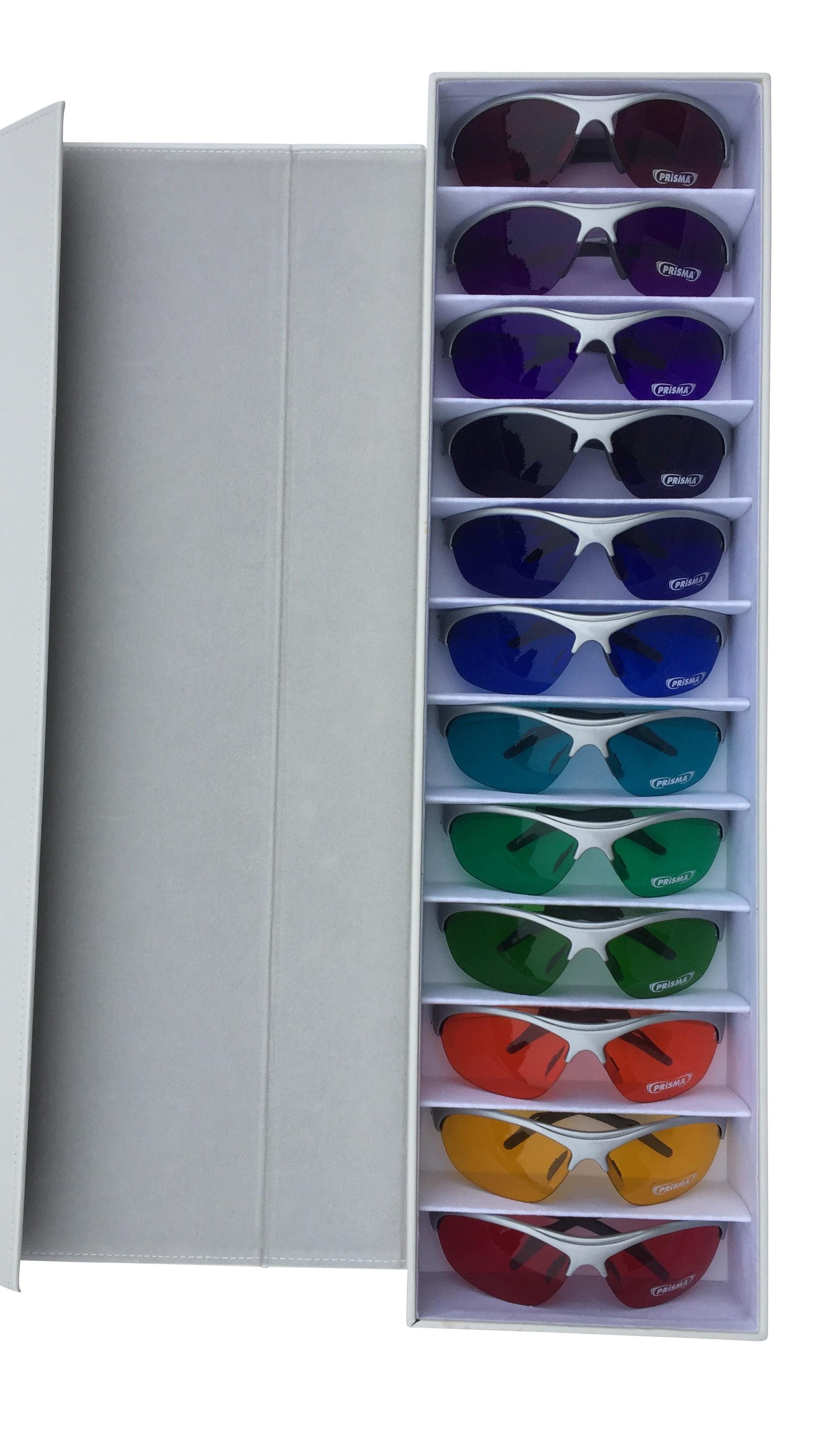 Coffret de 12 lunettes de couleur PRiSMA® Spectro-Chrome