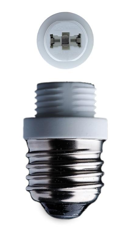 E27 adaptateur- douille pour ampoule G9 halogène