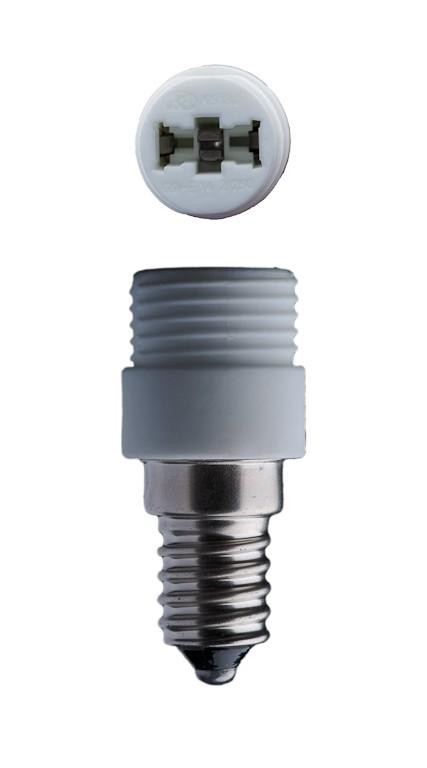 E14 adaptateur-douille pour ampoule G9 halogène