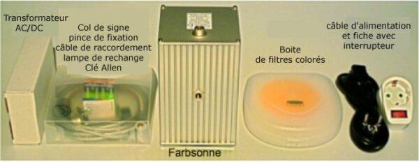 Lampe Farbsonne SL - Spectrochrome
