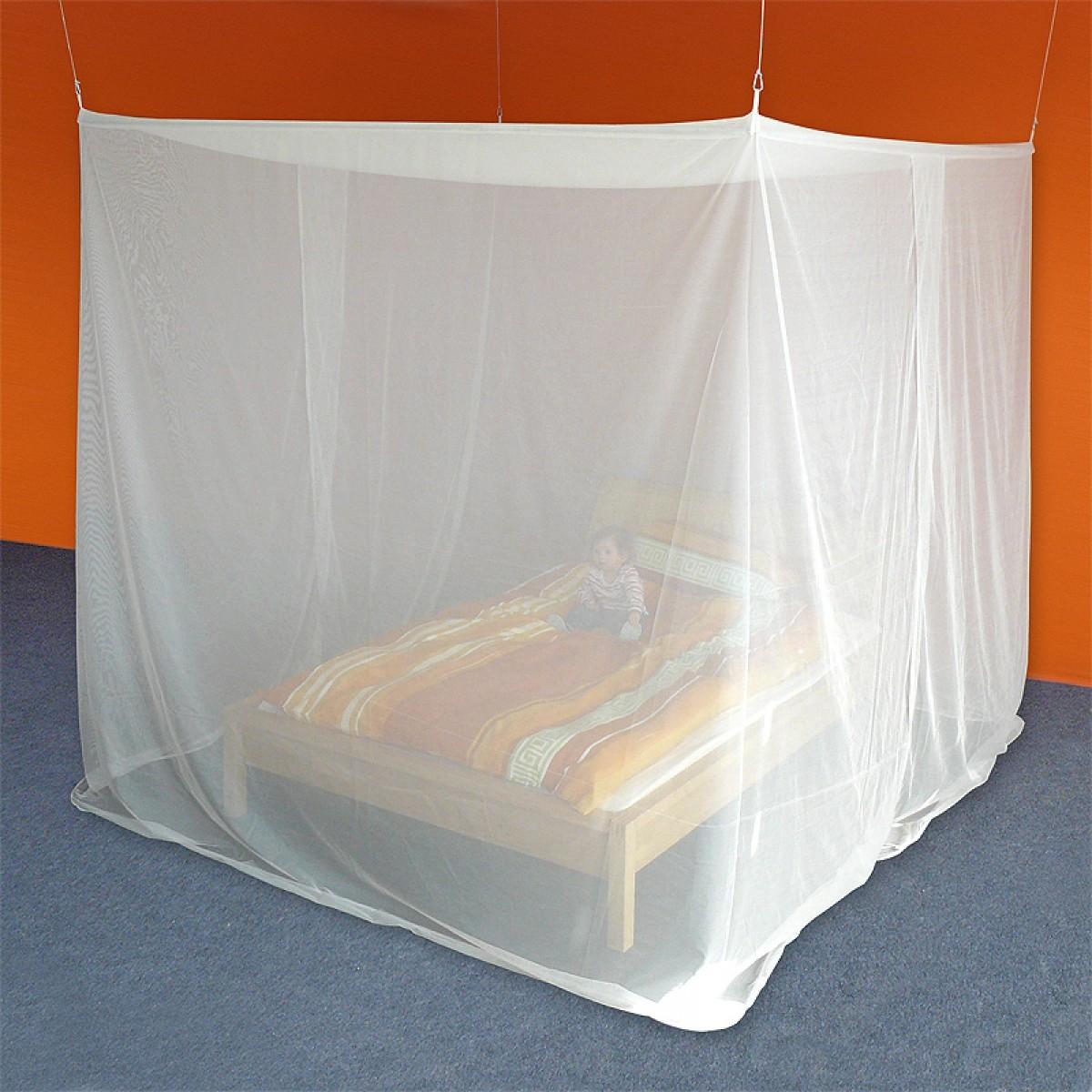 Baldaquins cabine rectangulaire - New-Daylite pour un lit double
