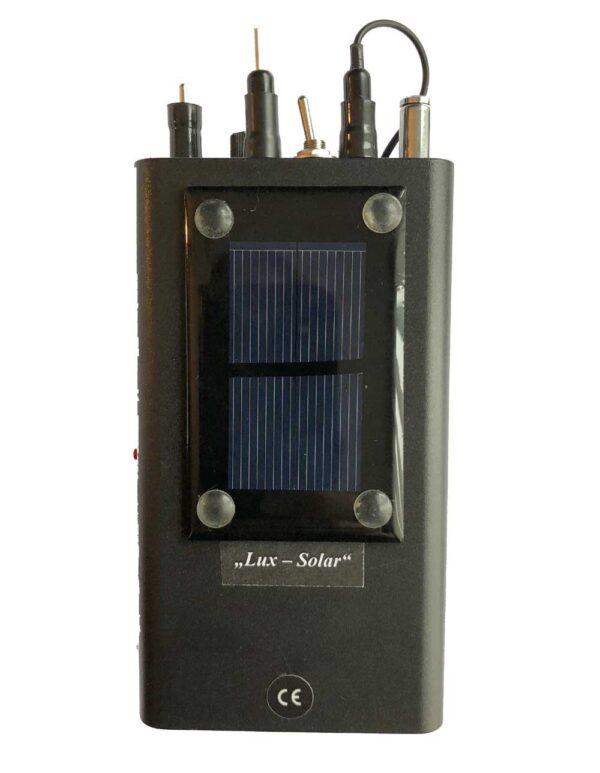 SUPER ESMOG-SPION + LUX SOLAR - Détecteur acoustique de 'Electrosmog et de la lumière artificielle