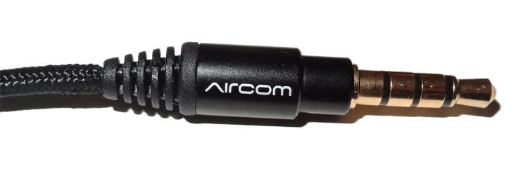 jack plug aircom 3.5 mm