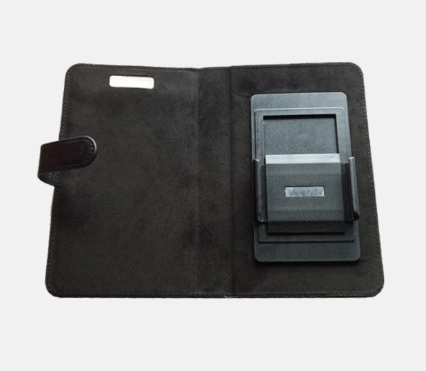 Etui anti-ondes Universel Grand Format noir - Book coulissants