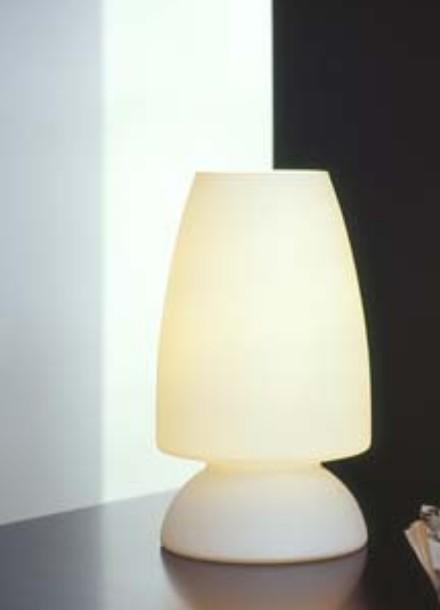 Lampes de table opaline blindée E27/60W