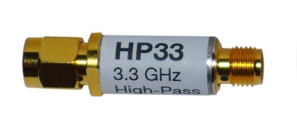 Filtre passe haut HP33 pour HFW59D