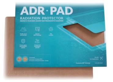 ADR-PAD - Tapis de protection électromagnétique à poser sous l'ordinateur portable